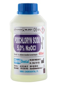 PODCHLORYN SODU 5% 400 ml